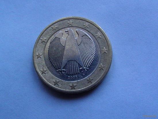 Германия 2 евро 2002г   А.  распродажа