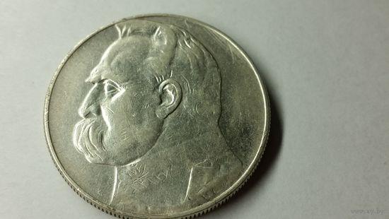 10 злотых 1937 г.
