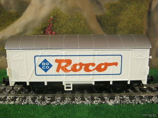 Грузовой вагон ROCO.Масштаб НО-1:87.
