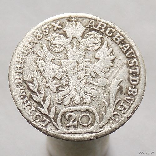 Австрия 20 крейцеров 1785 Иосиф II
