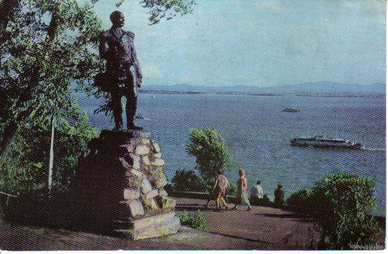 Хабаровск, памятник Г.И.Невельскому