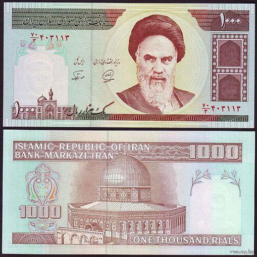 Иран. 1000 Риалов 1992 г. UNC   распродажа