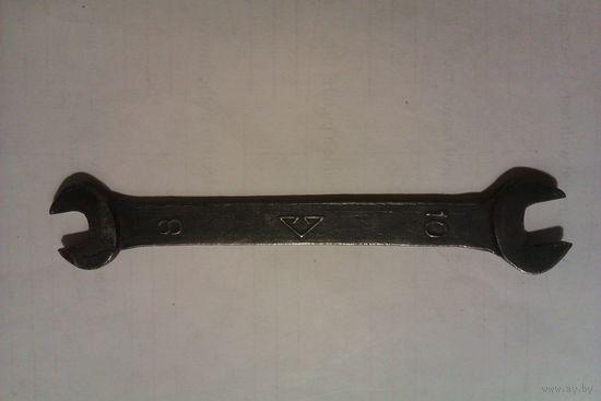 Ключ гаечный 8*10