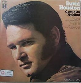 LP David Houston - Gentle On My Mind (1972) Folk, World, & Country