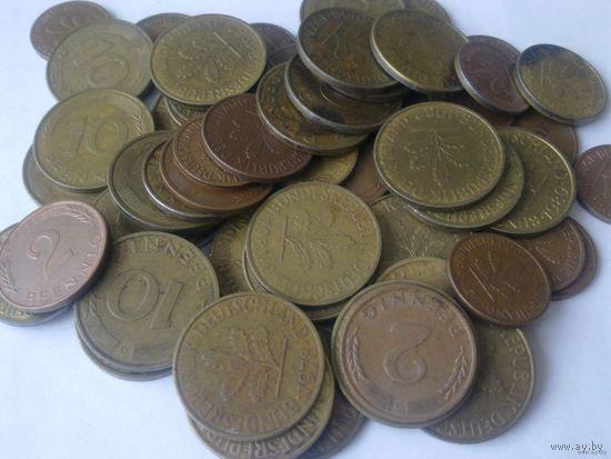 Обменяю свои лоты на монеты ФРГ - ходячка и юбилейка 1948-2001 - от 1 пф. до 10 марок (список расширен!)