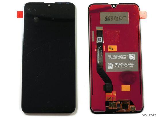 Дисплей для Huawei Y7 2019 в сборе с тачскрином Черный