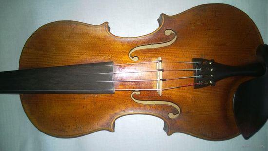 Очень старая скрипка французская мануфактура Carlo Bergonzi
