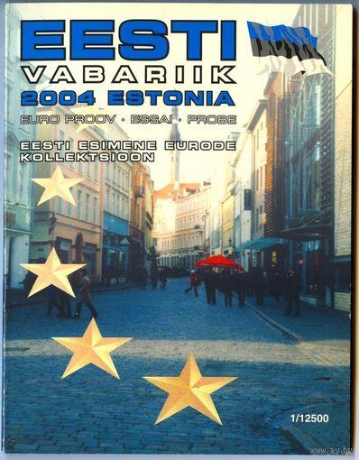 Эстония, 2004 г. Буклет с фантазийными евро