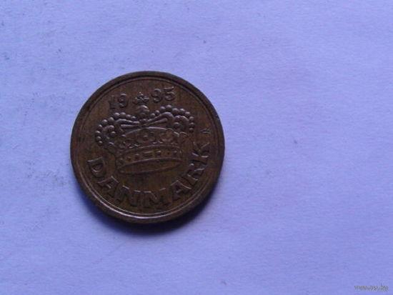 Дания 25 эре 1995г.  распродажа