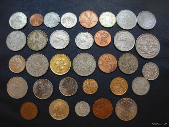 Коллекция - 33 монеты ФЛОРА и ФАУНА #2 БЕЗ ПОВТОРОВ !!!