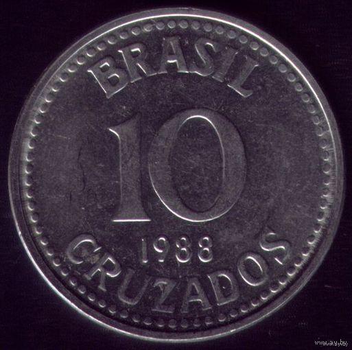 10 Крузадо 1988 год Бразилия