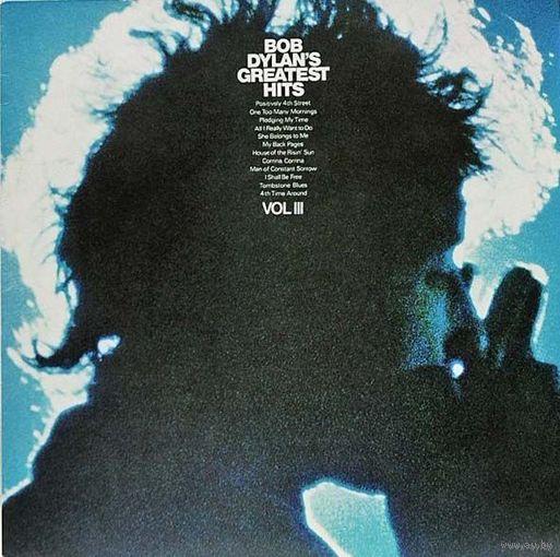 0497. Bob Dylan. Greatest Hits. Vol.III. 1967. CBS (NL) = 16$