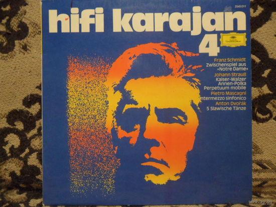 Герберт фон Караян - HiFi Karajan 4 (Ф. Шмидт, И. Штраус, П. Масканьи, А. Дворжак) - Deutsche Grammofon, Германия