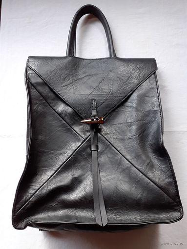 Стильная сумка рюкзак .