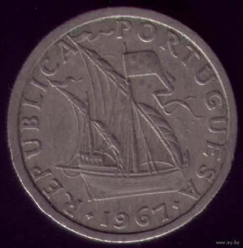 2.5 Эскудо 1967 год Португалия
