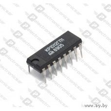 КР1012ГП1, КР1012ГП2 (КМ1012ГП1, КМ1012ГП2) - формирователь (делитель) сетки частот (нот) для электромузыкальных инструментов (ЭМИ)
