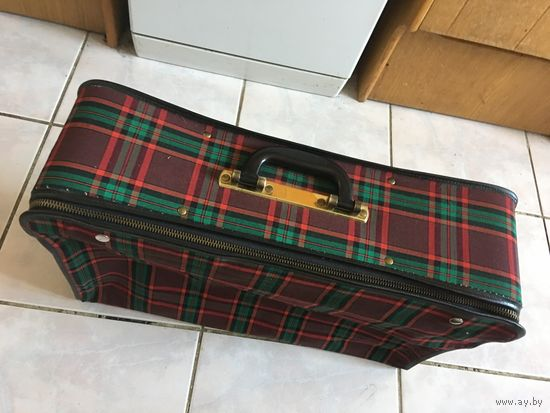 Чемодан чемоданчик СССР складной РЕДКИЙ красавчик в прекрасном состоянии