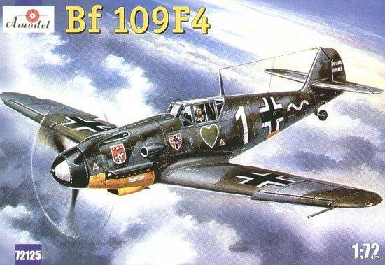 Истребитель Мессершмитт Bf-109Ф4.   2МВ Германия