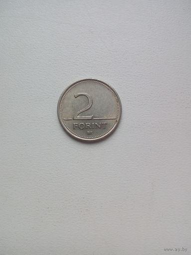 2 форинта 1993г.Венгрия