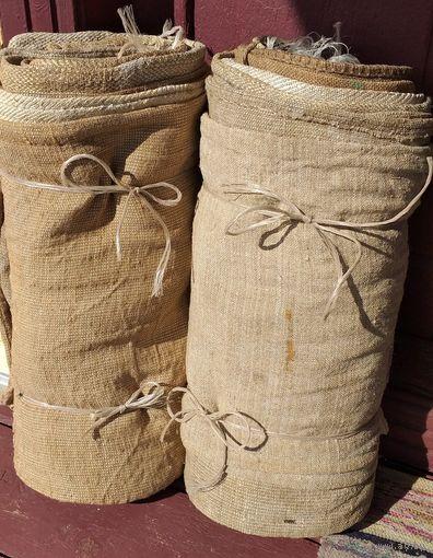 Мешки для картошки из мешковины, б.у-опять пополнение-24шт