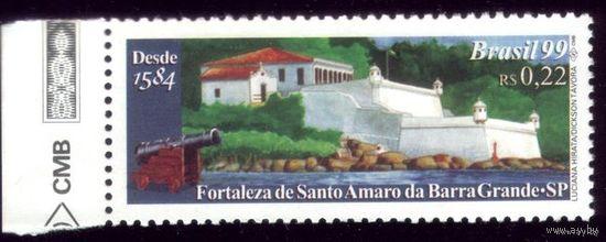 1 марка 1999 год Бразилия Крепость