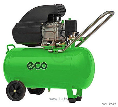 Компрессор ECO AE 501 (260 л/мин, 8 атм, поршневой, масляный, ресив. 50 л, 220 В, 1.80 кВт) (AE-501)