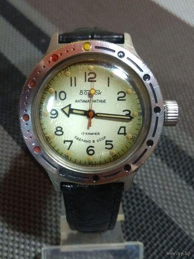 Часы Восток Антимагнитные амфибия 17 камней  2409