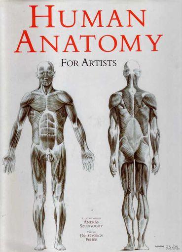 Анатомия для художников  /Human Anatomy for Artists/. На английском языке.  2000г.