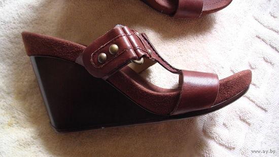 Туфли на танкетке NINE WEST . распродажа