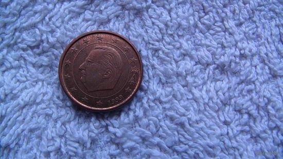 Бельгия 1 евроцент 1999 г. распродажа
