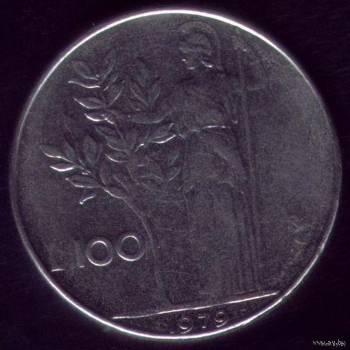100 Лир 1979 год Италия