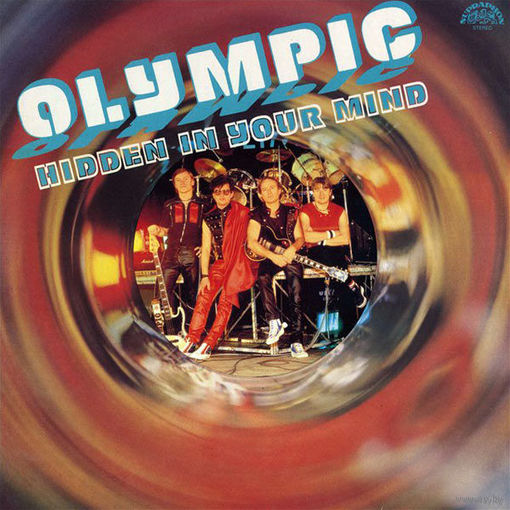 LP Olympic - Hidden In Your Mind (1986) Hard Rock, Pop Rock