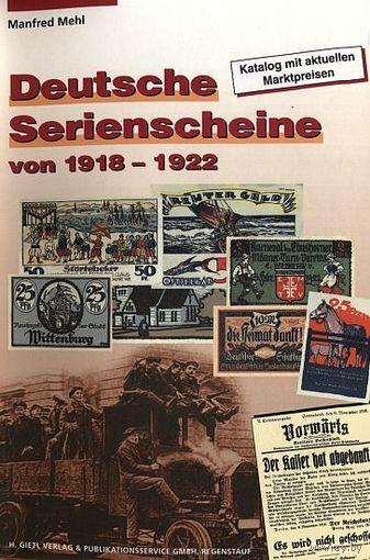 Нотгельды (частные) Германии 1918-22 гг - на CD
