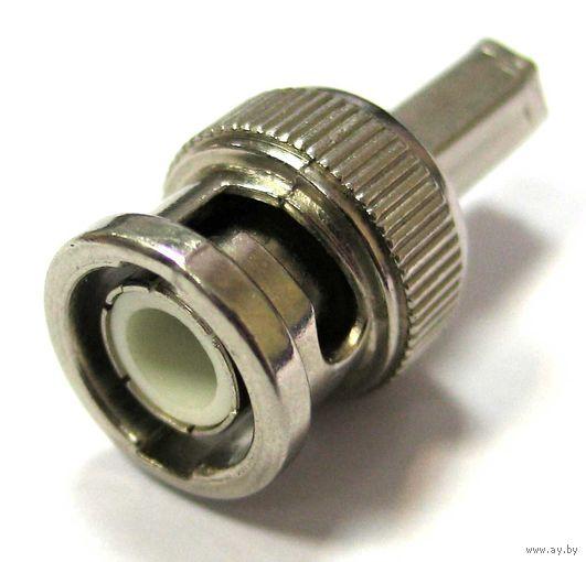 Переходник BNC > RCA (F connector) для коаксиального кабеля