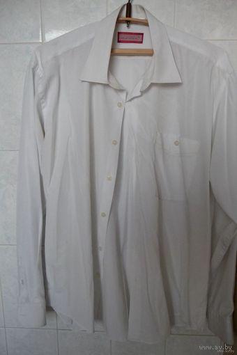 Рубашка (сорочка) мужская белая, р. 50