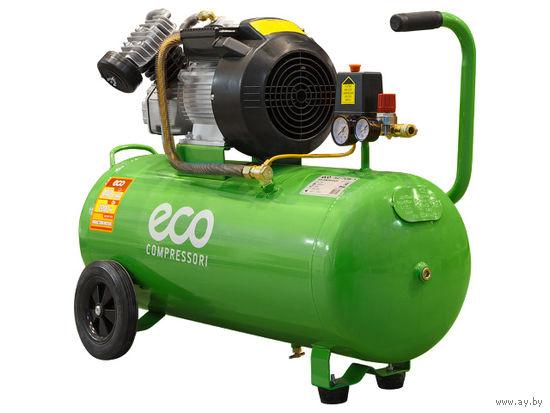 Компрессор ECO AE-705-3 (440 л/мин, 8 атм, поршневой, масляный, ресив. 70 л, 220 В, 2.20 кВт)
