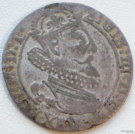 Польша, шестак/ шестигрошовик/ 6 Grossus 1623 года, м.д. Краков/ Cracow