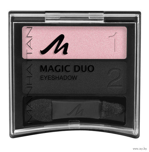 Двойные ТЕНИ для век Manhattan Magic Duo Eyeshadow Good'N'Bad 53B/1010N