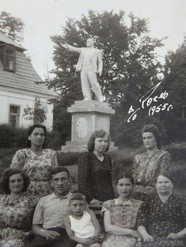 Волковыск  Рось  памятник Ленину 1955