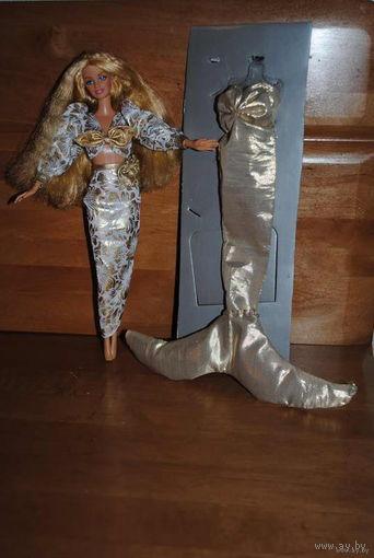 """КУКЛА БАРБИ от MATTEL_""""Алина"""" _с шикарными волосами и в оригинальном костюме 20-ти летней давности-(покупался ранее, отдельно)-100% Оригинал от Mattel!"""