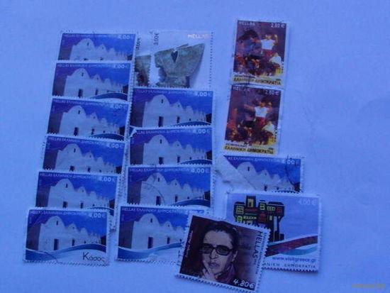 Греция марки  сборка  распродажа