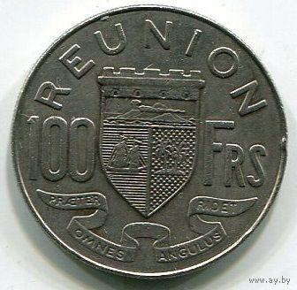 РЕЮНЬОН - 100 ФРАНКОВ 1964