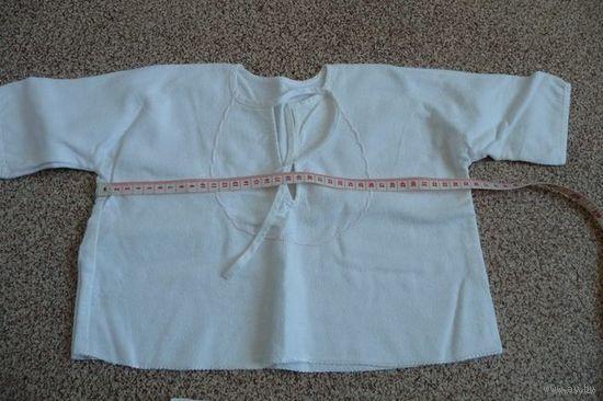 Распашенка/рубашечка байковая