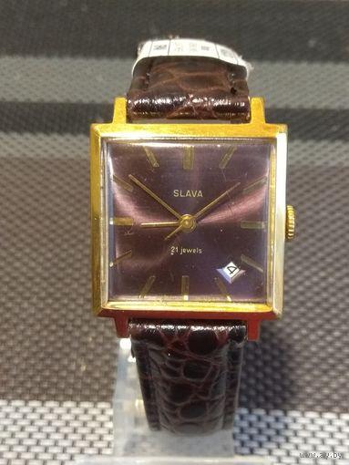Часы Слава квадратные 2414