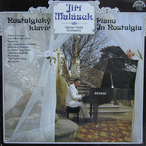 Jiri Malasek, Vaclav Hybs Orchestra - Nostalgicky Klavir - LP - 1981