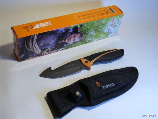 Нож Туристический Bear Grylls Gerber Folding Sheath Knife BG-134 Стропорез!