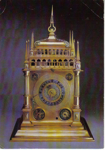 "Открытка ""Астрономические часы, Аугсбург"""