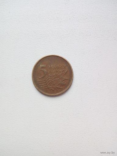 5 грош 1990г.Польша