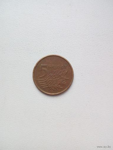 5 грош 1999г.Польша