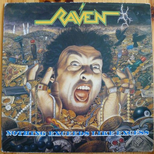Винил Raven - Nothing Exceeds Like Excess